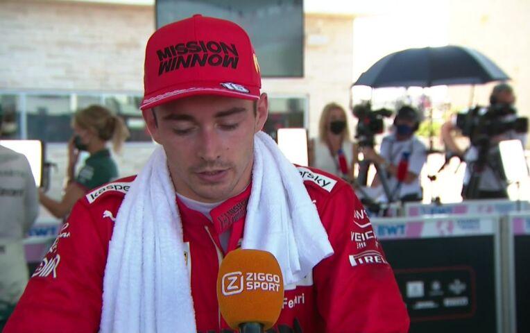 Leclerc: 'Denk niet dat jullie me veel hebben gezien'