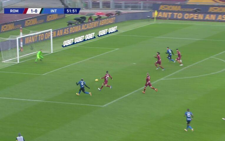 AS Roma - Internazionale (lange samenvatting)