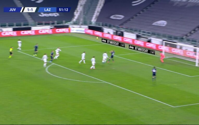 Juventus - Lazio Roma (lange samenvatting)