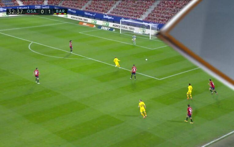 Osasuna - Barcelona (lange samenvatting)