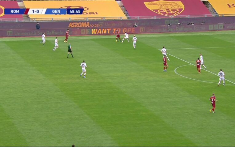 AS Roma - Genoa (lange samenvatting)