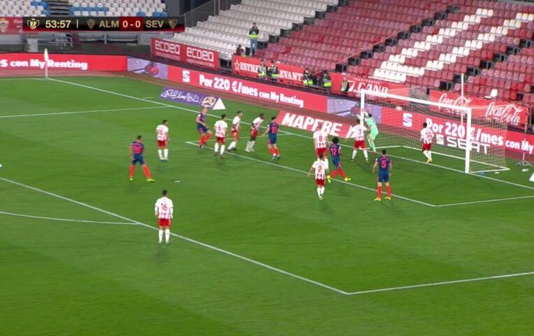 Kwartfinale Copa del Rey: Almeria - Sevilla