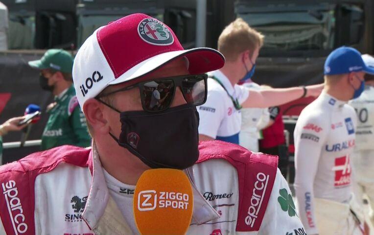 Raikkonen: 'We hadden eerder moeten stoppen'