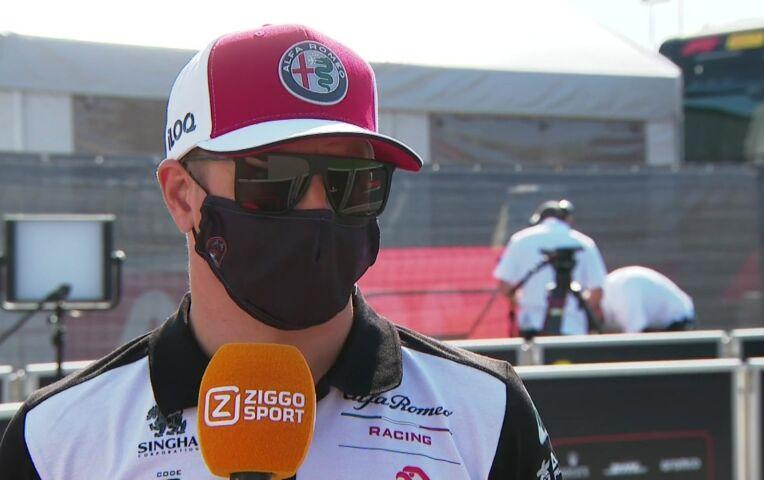 Räikkönen: 'Met deze hitte verliezen we veel grip'