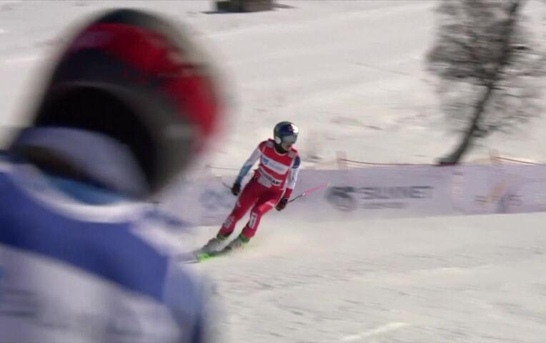 Skicrosser Wilmsmann wint in Bukariani