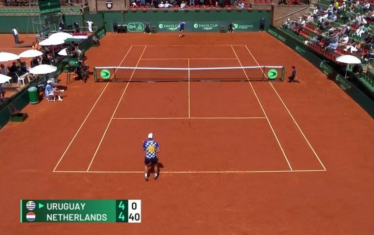 Nederland start goed in de Davis Cup