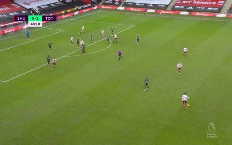 Sheffield United - Tottenham Hotspur (lange samenvatting)