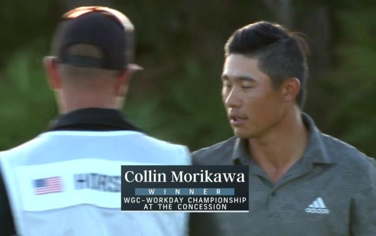 Morikawa pakt eerste WGC-titel van 2021