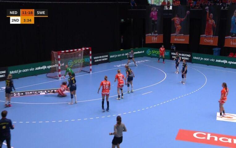 Handbal (dames): Nederland - Zweden
