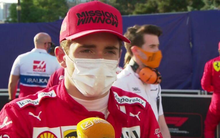 Leclerc: 'Dit is ongeveer wat we hadden verwacht, maar je hoopt op meer van pole'