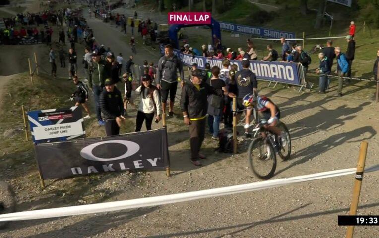 Rissveds wint sprintrace in Lenzerheide, Tauber 4e en Terpstra 11e