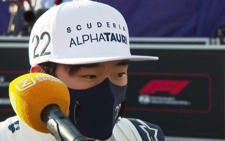 Tsunoda: 'Niet tevreden, het was moeilijk'