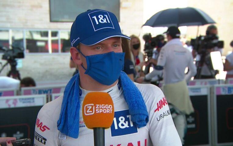 Schumacher: 'Het was heet, maar beter dan koud'