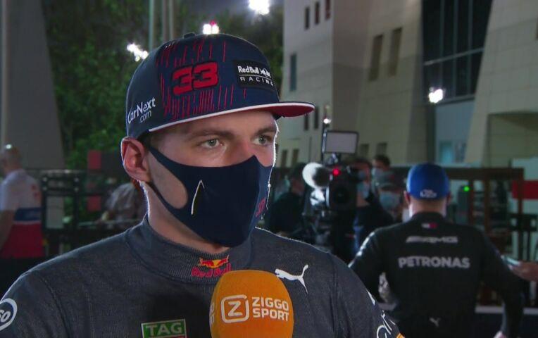 Verstappen: 'Ik finish liever eerste met een penalty, dan zo tweede'
