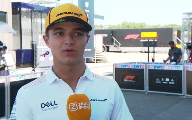 Norris: 'We zijn ieder weekend prima voorbereid, dus ook deze race staan we er weer goed voor'