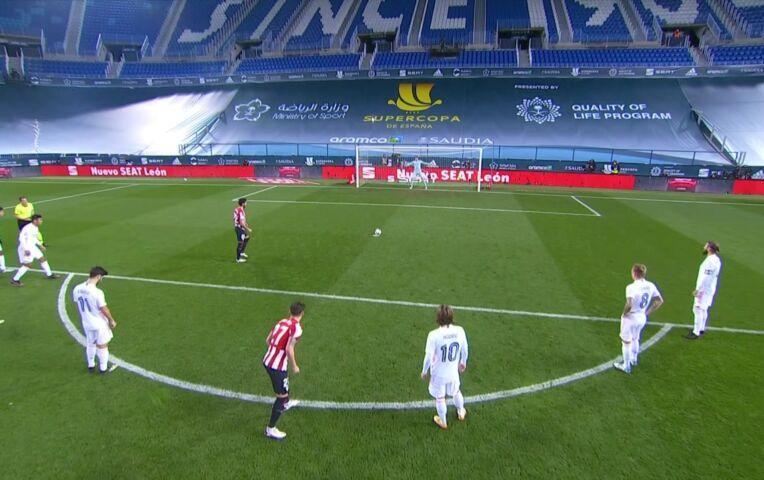 Supercopa de España: Real Madrid - Athletic Bilbao (Lange samenvatting)
