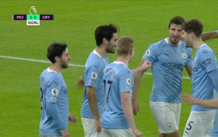Manchester City - Crystal Palace (lange samenvatting)