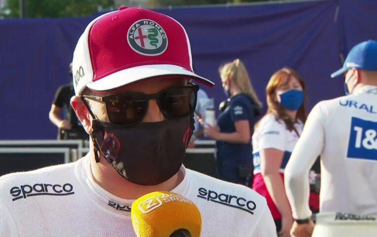 Raikkonen: 'Het is hier nog altijd verrassend lastig inhalen'