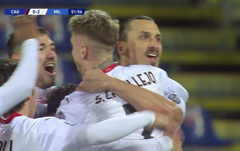 Cagliari - AC Milan (lange samenvatting)