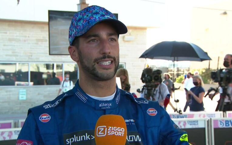 Ricciardo: 'In de NASCAR zweette ik misschien nog meer!'