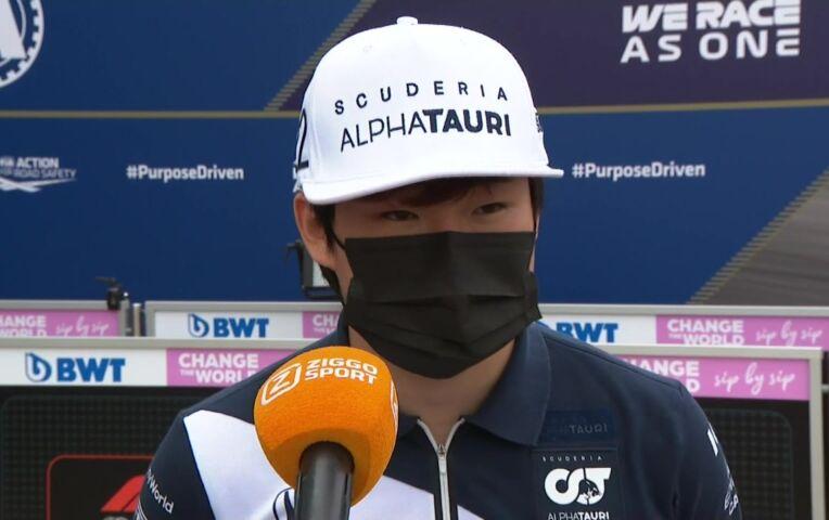 Tsunoda: 'Ik moet blijven presteren en hard werken'