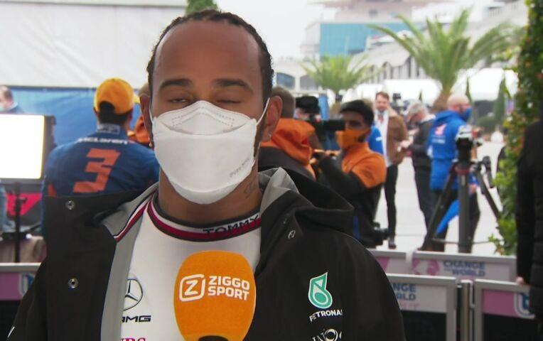Hamilton: 'We hadden buiten moeten blijven'