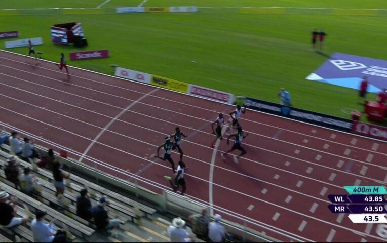 Bonevacia knap derde op 400 meter in Stockholm