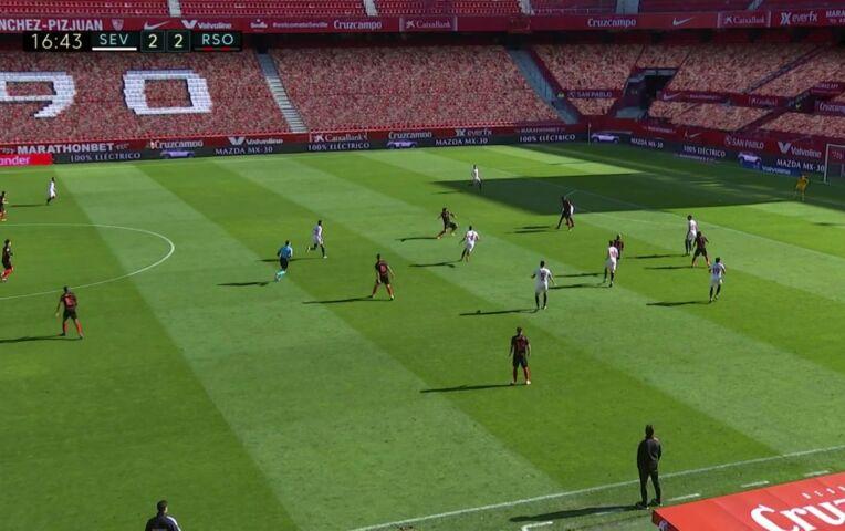 Samenvatting Sevilla - Real Sociedad