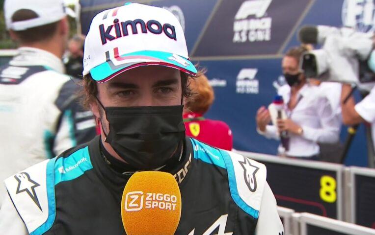 Alonso: 'Veeleisende race, lastig voor iedereen'