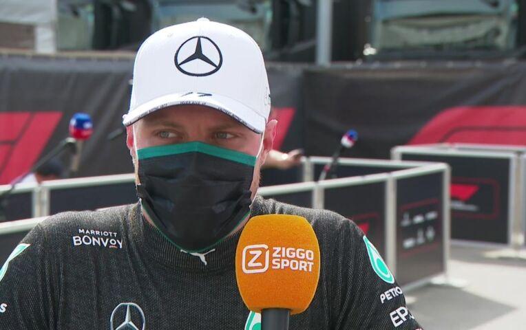 Bottas: 'Dat Charles me inhaalde, heeft mijn race verpest'