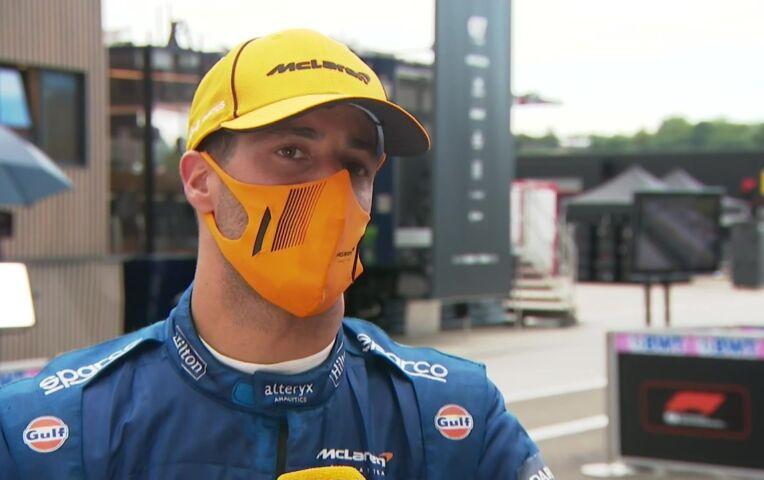 Ricciardo: 'Was het maar over na 20 seconden...'