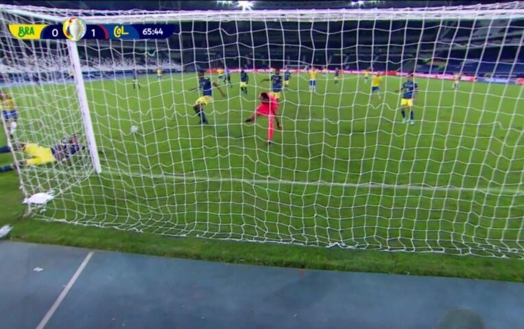Copa America: Brazilië - Colombia (lange samenvatting)