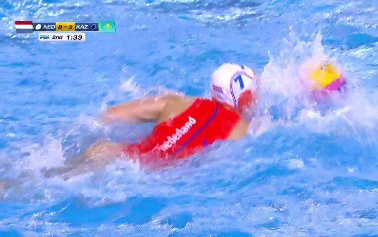 OKT Waterpolo Kwartfinale: Nederland - Kazachstan