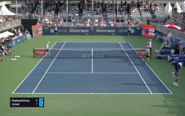 John Isner wint het Truist Atlanta Open