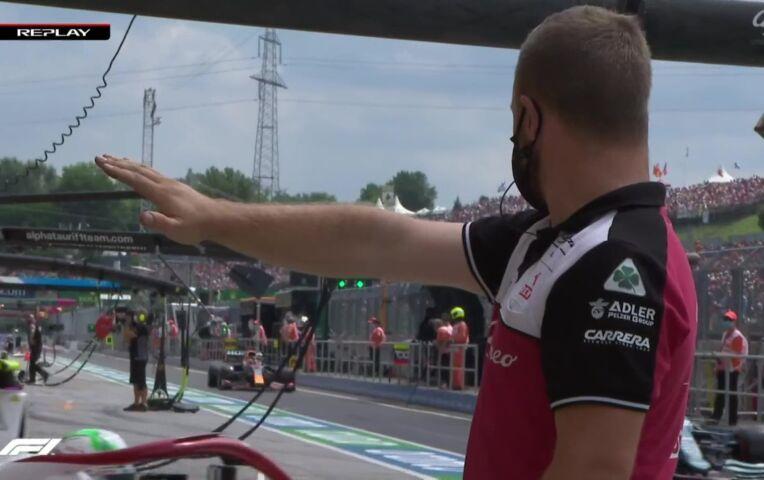GP van Hongarije: Vrije Training 3