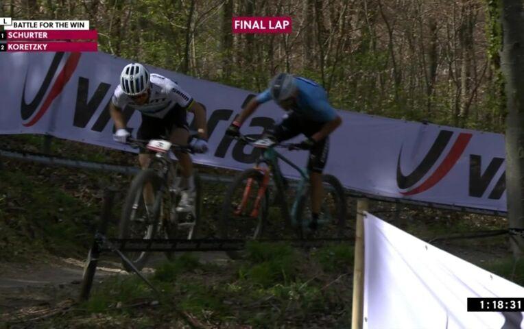 Koretzky wint in Albstadt, Mathieu van der Poel 7e