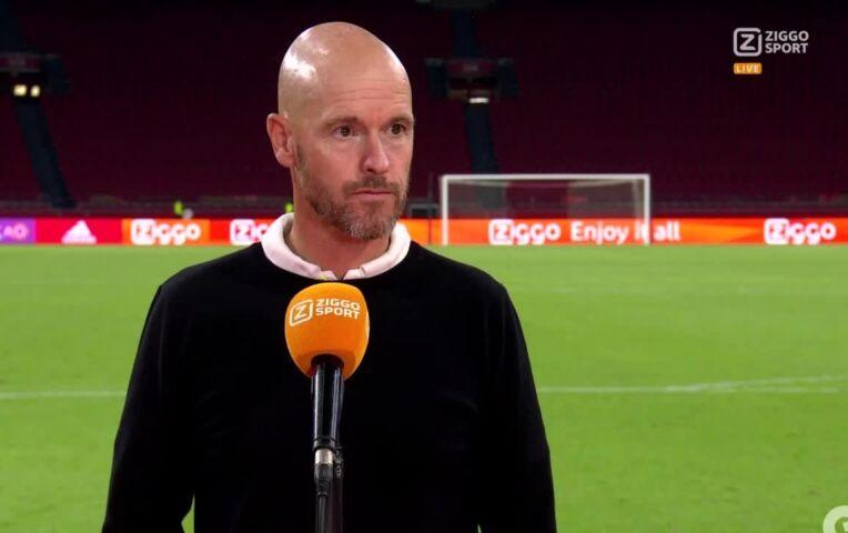 Erik ten Hag: 'Wij trainen gewoon keihard door'