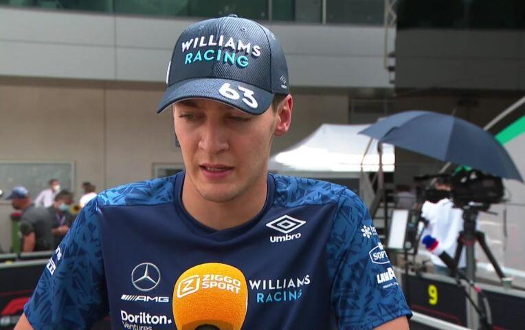 Russell: 'Racen is nooit makkelijk'
