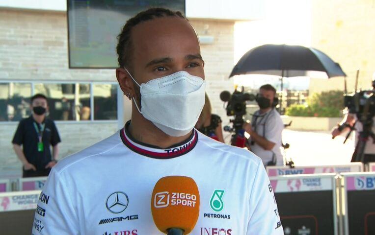 Hamilton: 'Eigenlijk geen verrassing, Red Bull is snel'