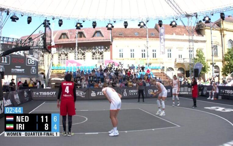 OKT 3x3 Basketbal: Nederlandse vrouwen naar halve finale