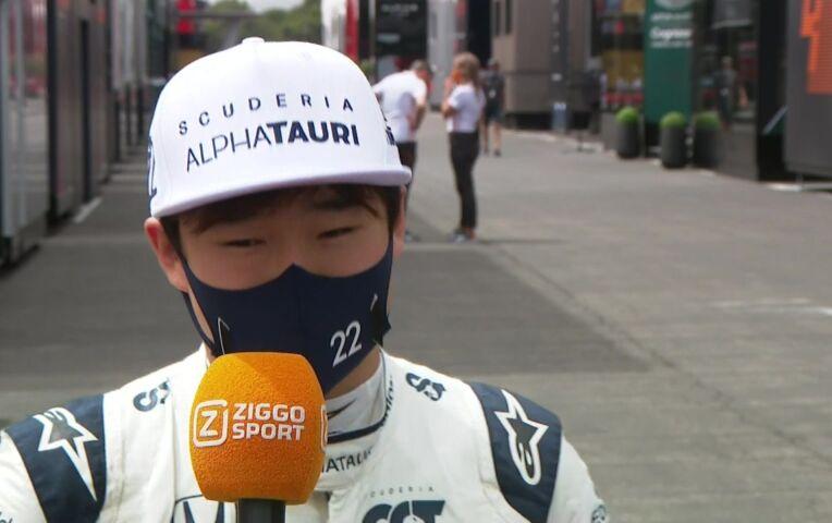 Tsunoda: 'Hopelijk is de versnellingsbak niet beschadigd'