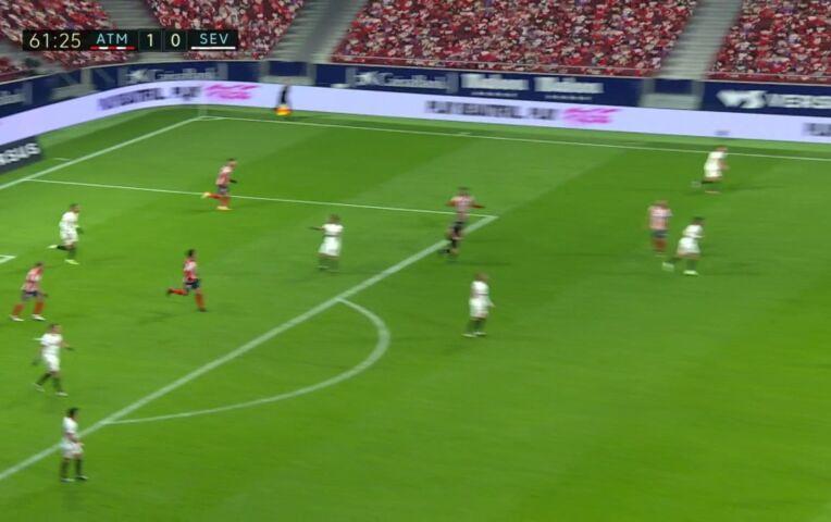 Atlético Madrid - Sevilla (lange samenvatting)
