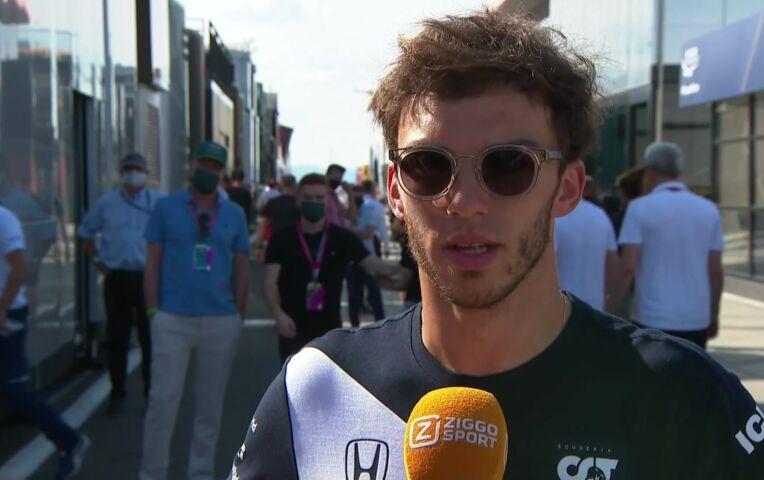 Gasly: 'We hadden niet verwacht boven McLaren en Ferrari te staan'