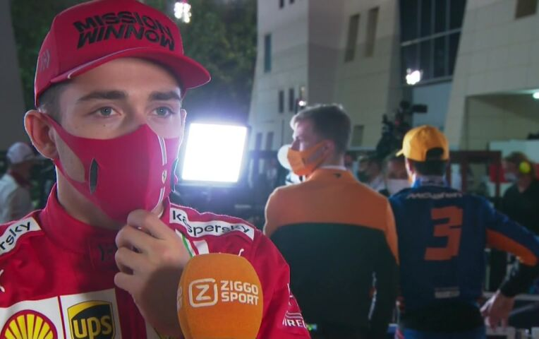 Leclerc: 'In de laatste stint vielen we weg'