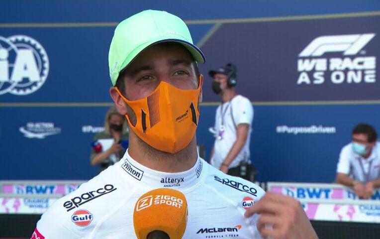 Ricciardo: '51G? Dat is een harde klap in de snelste bocht'