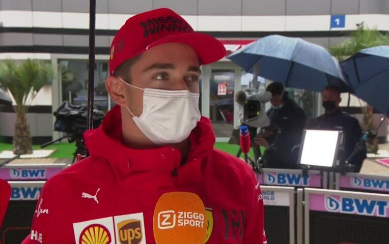 Leclerc heeft al meer punten dan in 2020: 'Het laat zien dat we op de goede weg zijn'