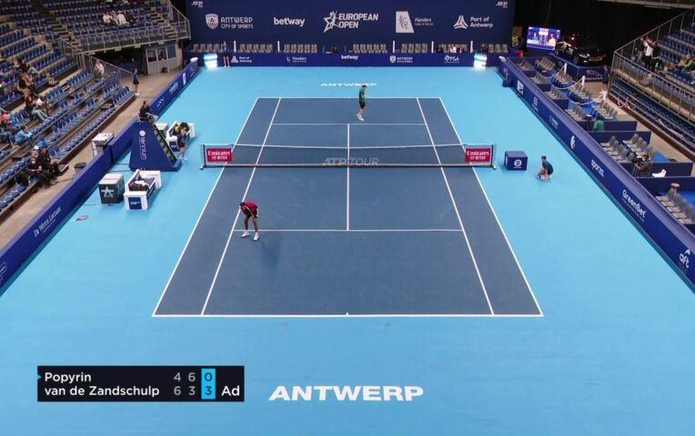 Goed begin voor Botic van de Zandschulp in het European Open Antwerpen