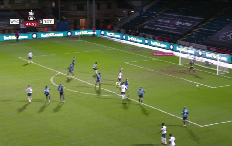 Wycombe Wanderers - Tottenham Hotspur (lange samenvatting)