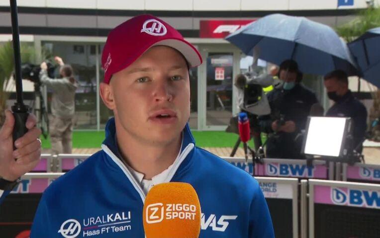 Mazepin: 'Ik moedig de Russische fans aan om hetzelfde te doen als de Nederlandse'