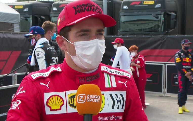 Leclerc: 'Heb ook genoten van mijn start'